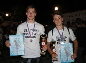 Анапчанин Руслан Никитин завоевал «бронзу» на фестивале паркура в Краснодаре