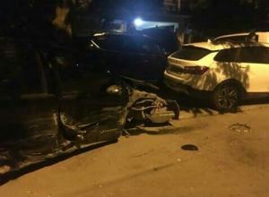 Шокирующее ДТП в Анапе с участием четырёх машин: водитель «Ниссана» хотел скрыться