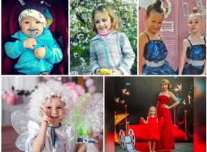 Кристиан, Кира, Жорик, Оленька, Настенька - участники конкурса «Детки-конфетки»