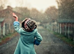 Первый снег в Анапе прошел незаметно