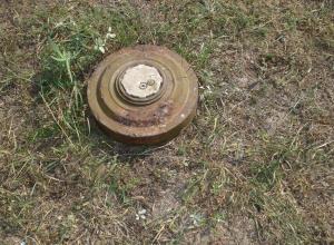 Мину, обнаруженную в Анапе, уже обезвредили