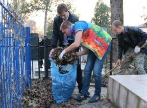 Молодёжь Анапы навела порядок на кладбище Витязево