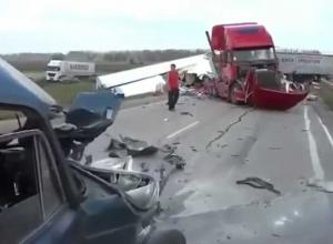 На трассе Анапа - Краснодар под Крымском произошло страшное ДТП