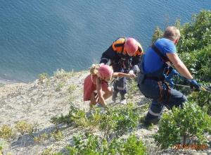 Семью из пяти человек спасли с горы под Анапой