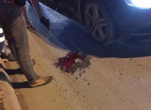 Кровь на асфальте: в Анапе девушку-пешехода увезли на «скорой»