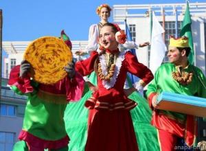 Анапчан и гостей курорта приглашают отпраздновать Масленицу на Театральной площади города