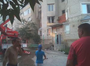 Появилось видео с места пожара в Анапе