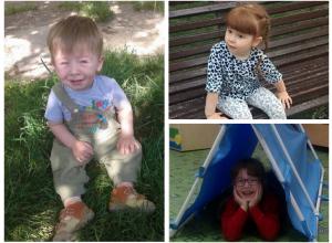 Павел, Олеся и Ульяна - участники конкурса «Детки-конфетки»