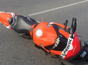 Водитель «Киа» в Анапе сбил мотоциклиста