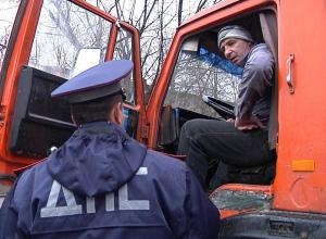 В Анапе начнётся «охота» на водителей грузовиков