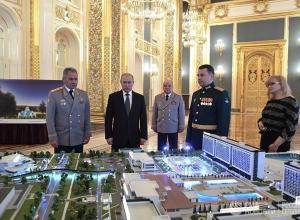 Владимиру Путину презентовали проект нового технополиса, который построят в Анапе