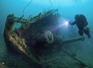 На территории Анапских плавней до сих пор ищут сокровища затонувших кораблей