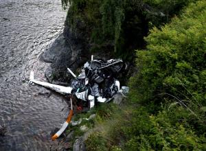 Вертолет потерпел крушение в районе поселка Малый Утриш под Анапой