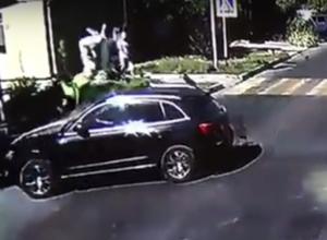Страшная авария в Анапе на Шевченко
