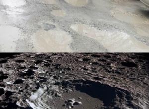 Лунную поверхность в честь Дня космонавтики воссоздали на улицах Анапы