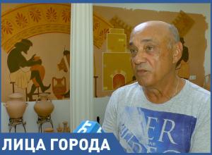 Гончар Владимир Иванисов создаёт в Анапе уникальный музей античной керамики