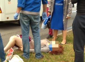 В Анапе автобус сбил женщину на «зебре»