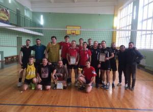 В Виноградном под Анапой прошёл рождественский волейбольный турнир