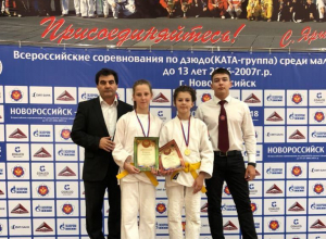 Анапская дзюдоистка впервые выступила на Всероссийских соревнованиях и заняла 1 место