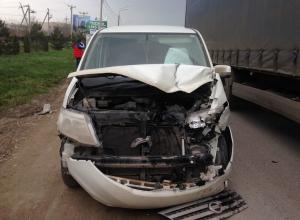Стал известен виновник аварии на Анапском шоссе с участием четырёх автомобилей