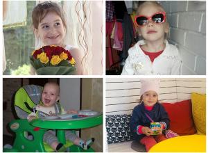 Эвелиша, Арина, Лев и Диана - участники конкурса «Детки-конфетки»