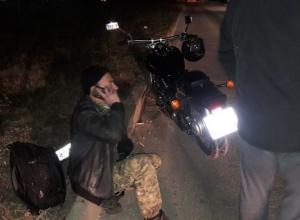 Водитель мотоцикла чудом уцелел: ДТП  на улице Ленина в Анапе