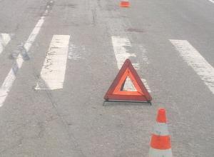 В Анапе напротив поликлиники водитель сбил пешехода и скрылся с места ДТП