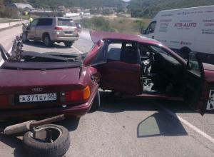 Ужасная авария недалеко от Анапы унесла жизнь девушки