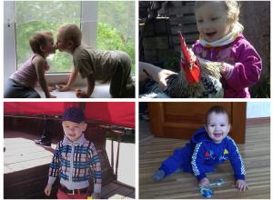 Захар и Арина, Амелия, Матвей, Демид - участники конкурса «Детки-конфетки»