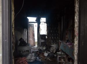 Жительница Витязево под Анапой затопила печь и чуть не сгорела в собственном доме