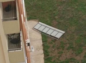 Ветер в Анапе проверил здания на прочность
