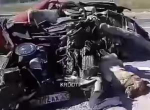 Стала известна личность погибшего в столкновении с КАМАЗом в Анапе