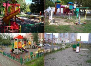 Анапчанин предлагает оградить детские площадки и оснастить их современным покрытием и скамейками