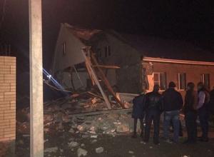 В Новогоднюю ночь в п.Рассвет под Анапой прогремел взрыв