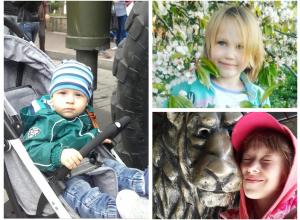 Капиталина, Степан и Мария - участники конкурса «Детки-конфетки»