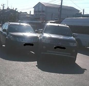 Не проскочила: в с. Витязево под Анапой «Ниссан» с дамой за рулём столкнулся с «Мицубиси»