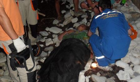 Анапчане обсуждают случай с туристкой, которая упала со скалы под Геленджиком