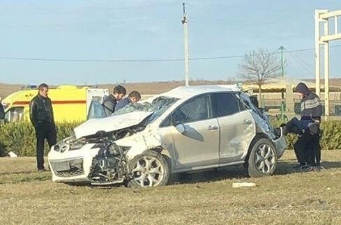 Под Анапой в серьёзной аварии пострадала жительница Екатеринбурга