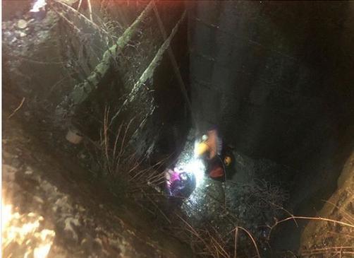 Поход в туалет закончился для анапчанки падением в глубокий бетонный колодец: видео