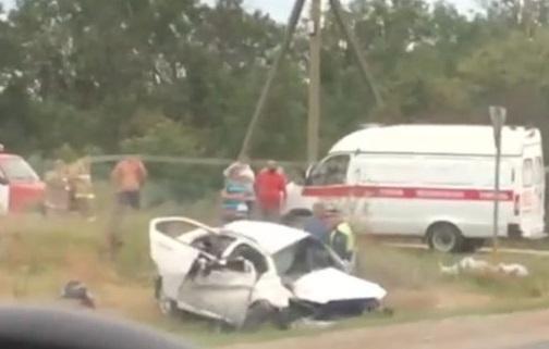 Жёсткое ДТП под Анапой: один человек погиб