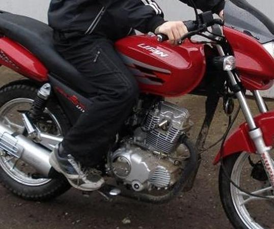 Двух парней, укравших мотоцикл, задержали в Анапе