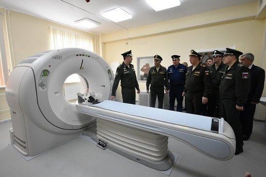 В Анапе военный госпиталь принял первых пациентов