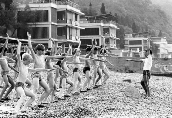В 1946 году в Анапе принимали на отдых детей, осиротевших после войны