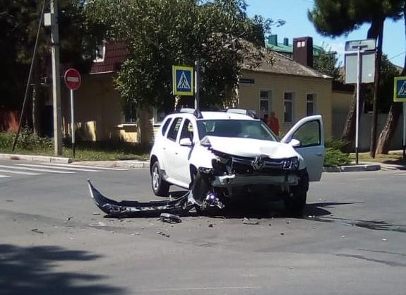 Аварии в Анапе за неделю с 5 по 11 августа