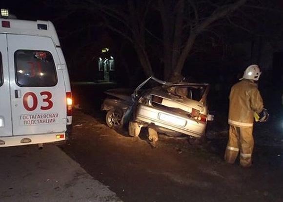 Тяжёлая авария в Гостагае недалеко от Анапы унесла жизни людей