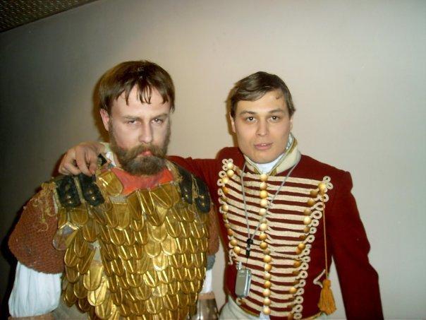 Анапчанин снялся в фильме «9 рота» и «Снег тает не навсегда» со звёздами российского кино