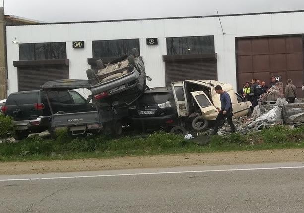 Аварии в Анапе за прошедшую неделю с 15 по 21 апреля