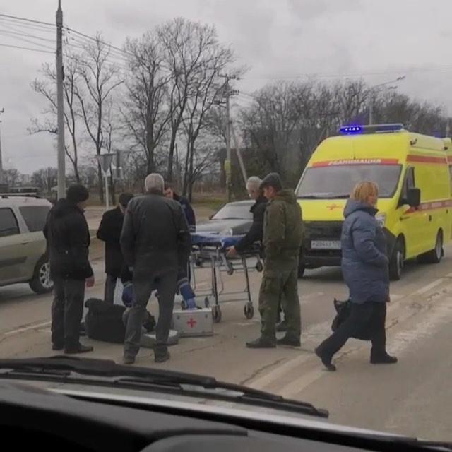 На пешеходном переходе в Анапе сбили пожилого мужчину