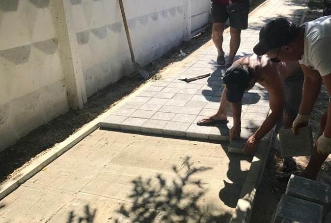 Где ещё в Анапе асфальтируют дороги и ремонтируют тротуары