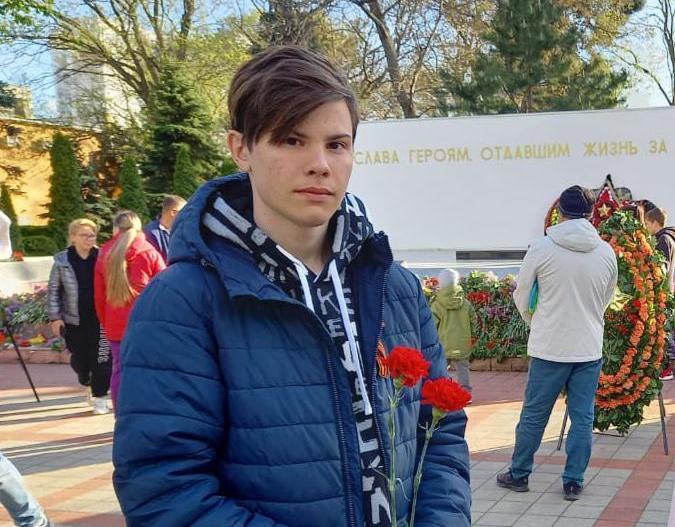Анапский подросток Дмитрий Бортник потушил пожар в квартире соседей
